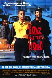 1991 - Boyz n the Hood Movie Poster