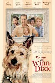 Because of winn dixie poster