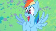 Rainbow Dash Screams