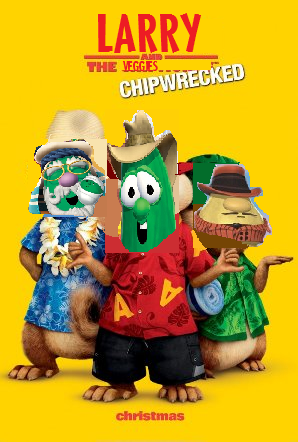 image larry and the veggies chipwrecked dvd png scratchpad
