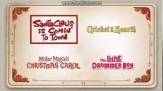 opening to the original christmas classics 2015 dvd disc 1 - Original Christmas Classics