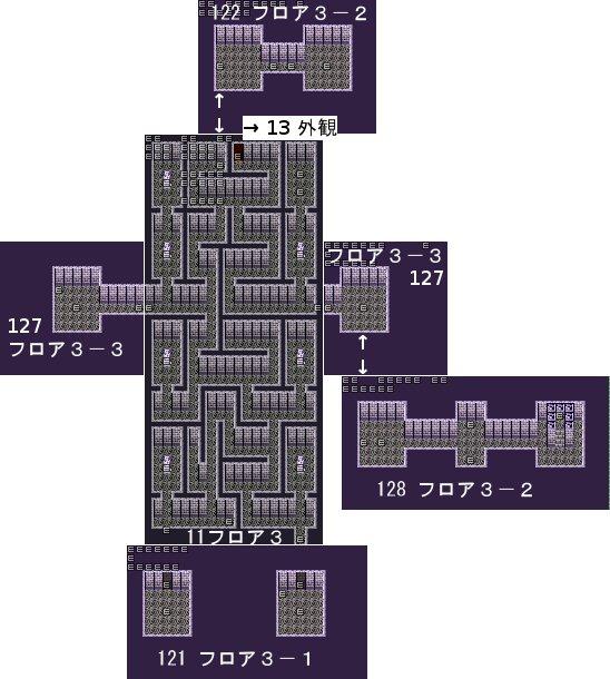 RyonaRPG - Undersea Temple map 3