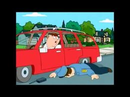 The Cop Says Officer Down At Teaser Trailer Of Family Guy The Movie (2002)