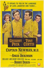 1963 - Captain Newman, MD Movie Poster