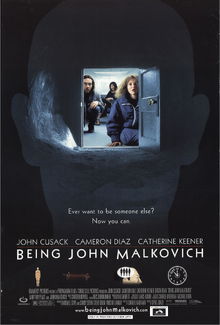 Being John Malkovich (1999) Theatrical Poster