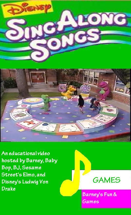 Disney Sing Along Songs: Games