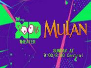 Disney XD Toons Theater Mulan Promo 2017