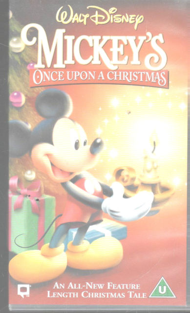 mickeys once upon a christmas uk vhsjpg - Mickeys Once Upon A Christmas Vhs