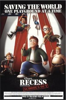 Recess Schools Out (2001) Poster 2