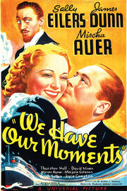 1937 - We Have Our Moments Movie Poster