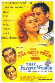 1949 - That Forsyte Woman Movie Poster