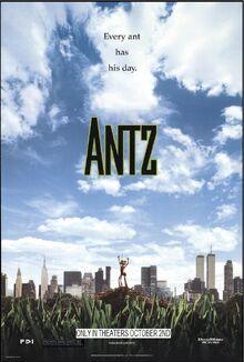Antz (1998) Teaser Poster