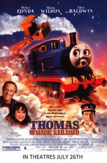 Thomas and the Magic Railroad 2000 Poster-0
