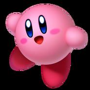 Kirby on Kirby Star Allies