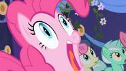Pinkie Pie screams