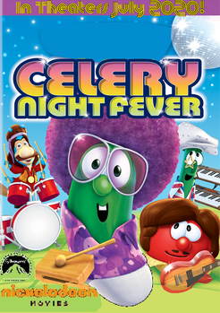 Paramount and Nickelodeon Celery Night Fever Poster
