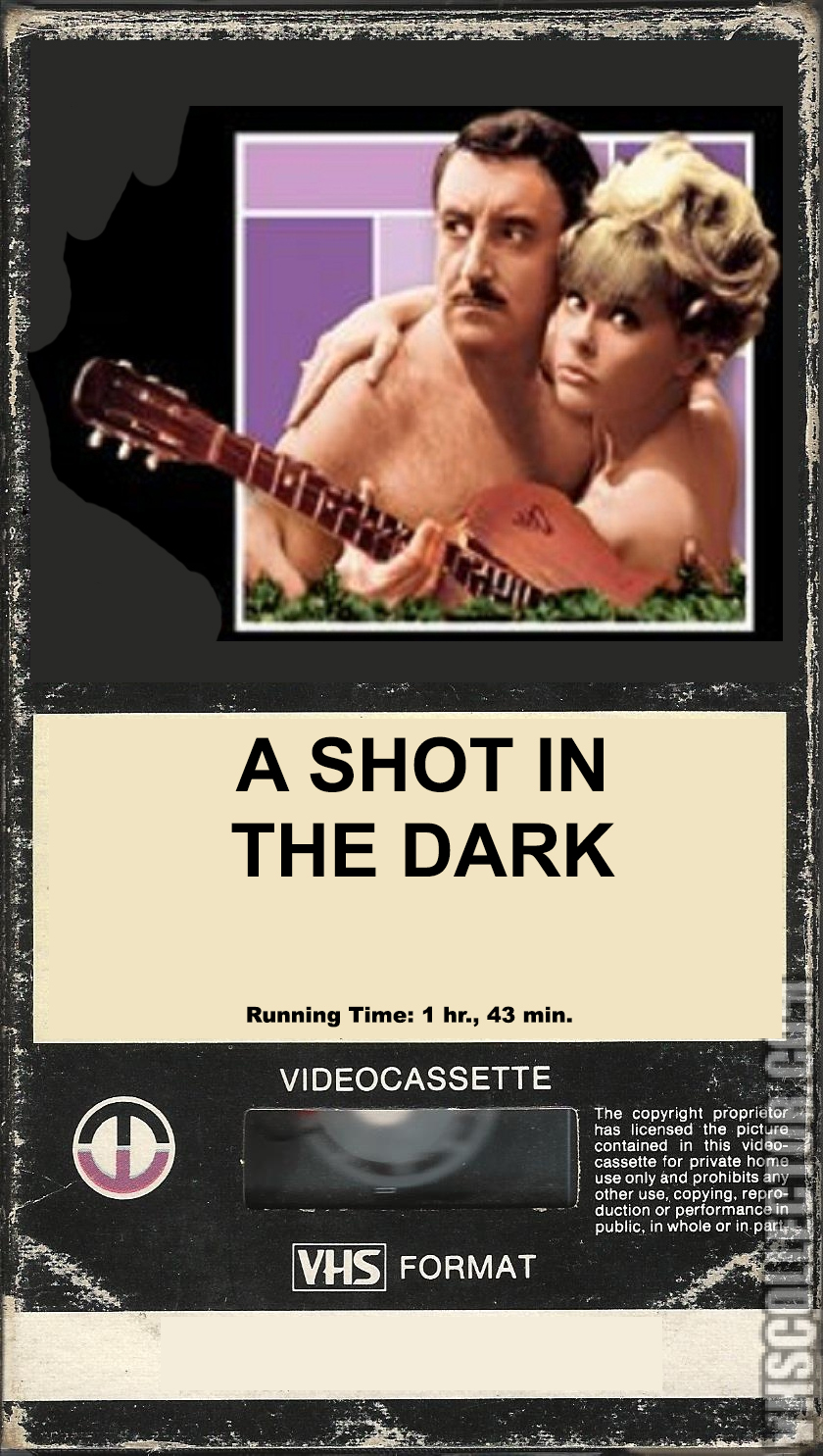 A Shot In The Dark 1981 VHS Cover