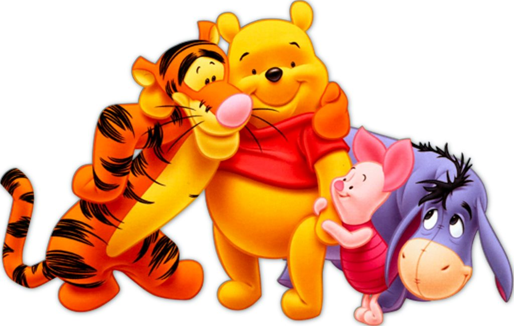 This is a photo of Dynamic Pooh Bear Images