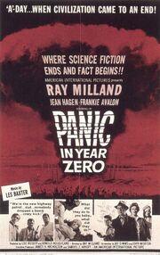 1962 - Panic in Year Zero Movie Poster