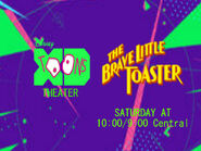 Disney XD Toons Theater The Brave Little Toaster Promo 2017
