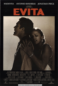 Evita (1996) Poster