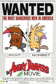 The Angry Beavers Movie (2000) Poster