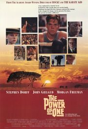 1992 - The Power of One Movie Poster