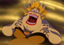 Ursula's evil laugh