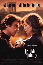 1991 - Frankie & Johnny Movie Poster