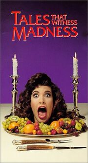 Tales That Witness Madness 1991 VHS (Front Cover)