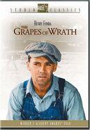 1940 - The Grapes of Wrath DVD Cover (2004 Fox Studio Classics)