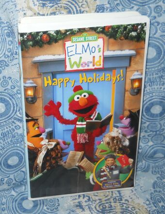 Opening To Elmo S World Happy Holidays 2002 Vhs Closing