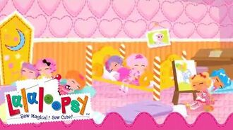 Lalaloopsy Webisode Pillow Featherbed Up All Night We're Lalaloopsy Now Streaming on Netflix!