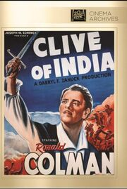 1935 - Clive of India DVD Cover (2013 Fox Cinema Archives)