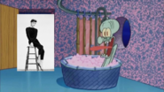 Audrey Hepburn Stops By And Squidward Screams