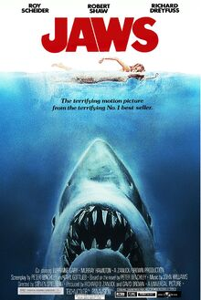 Jaws 2000 Re-Release Poster