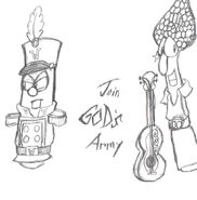 Join Gods Army by Kenny boy