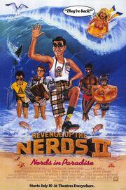 1987 - Revenge of the Nerds II - Nerds in Paradise Movie Poster