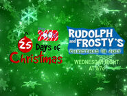 Disney XD Toons 25 Days Of Christmas Rudolph And Frosty's Christmas In July Promo 2018