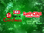 Disney XD Toons 25 Days Of Christmas Santa Claus Is Comin' To Town Promo 2018