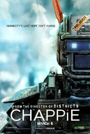 2015 - Chappie Movie Poster