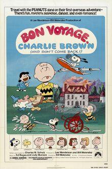 Bon voyage charlie brown xlg