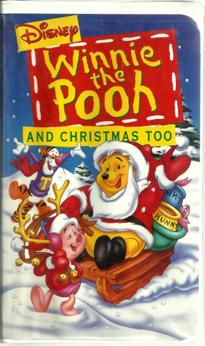 Winnie The Pooh And Christmas Too.Opening To Winnie The Pooh And Christmas Too 1994 Vhs Fake