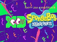 Disney XD Toons Happy 20th Anniversary Spongebob Squarepants Promo