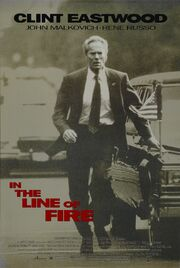 1993 - In the Line of Fire Movie Poster