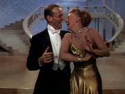 Fred Astaire and Ginger Rogers in Color