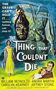 1958 - The Thing That Couldn't Die Movie Poster