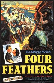 1939 - The Four Feathers Movie Poster