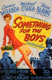 1944 - Something for the Boys Movie Poster