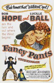 1950 - Fancy Pants Movie Poster
